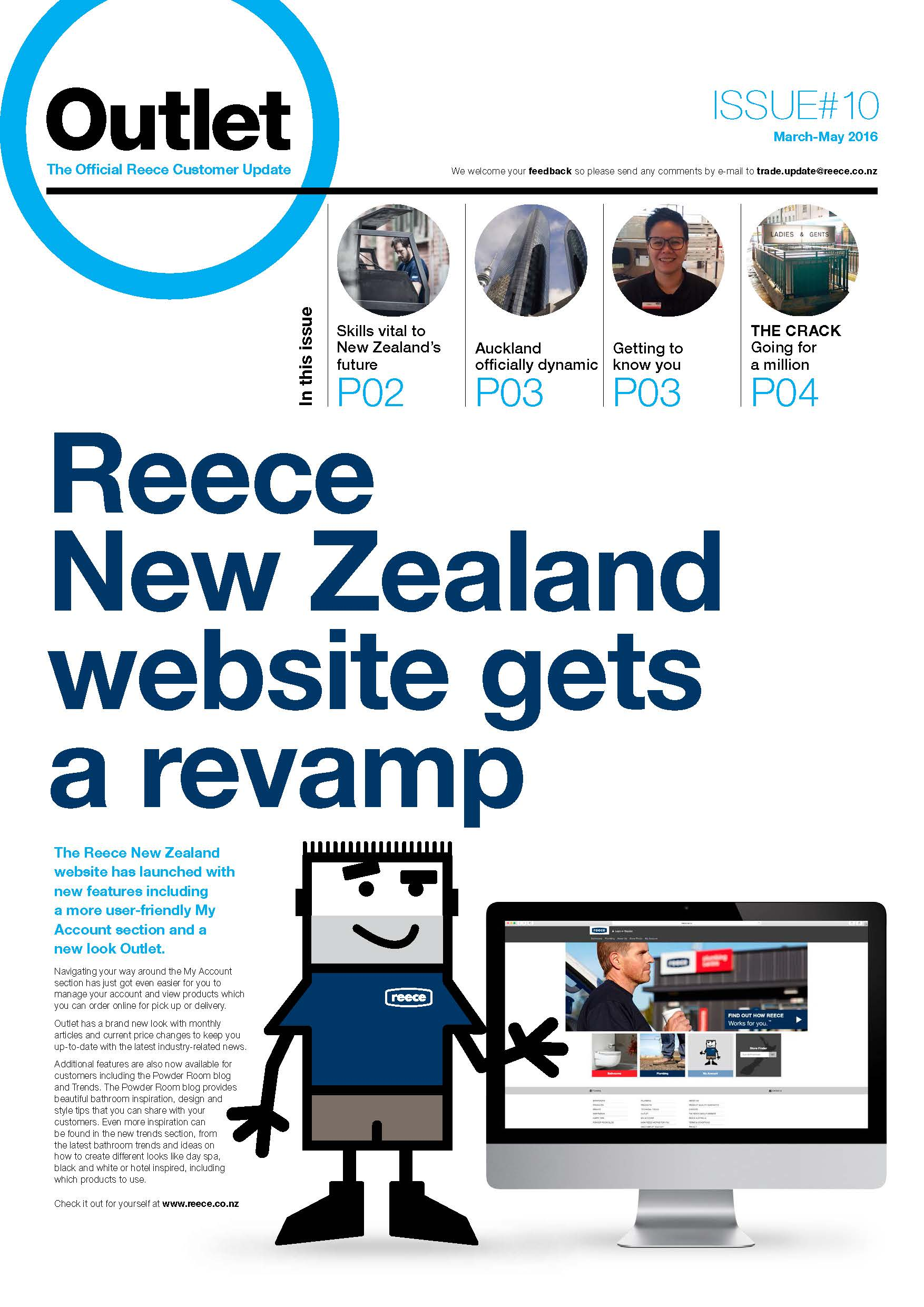 nzoutlet march 2016 cover