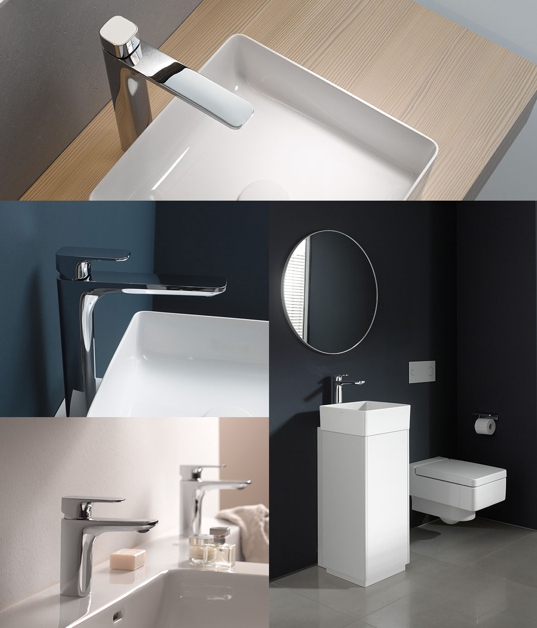 Reece bathrooms laufen cityplus chrome tapware