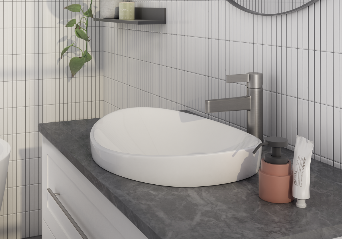 Reece Mizu Stream brushed basin mixer