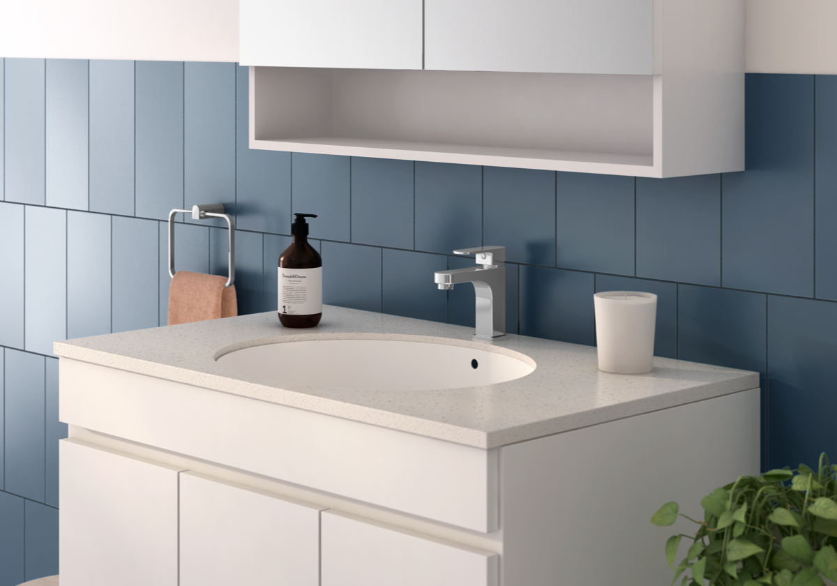 Reece bathrooms soothe chrome basin tapware